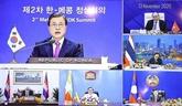 L'Indonésie est optimiste des relations entre l'ASEAN, la République de Corée et l'Inde