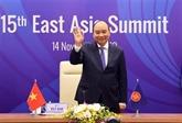 15e EAS : le Vietnam souligne le maintien de la paix et de la stabilité