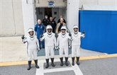 SpaceX envoie des astronautes vers la station spatiale