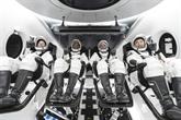 Une fusée SpaceX en route vers la station spatiale avec 4 astronautes