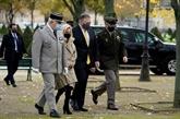 Le président français Macron reçoit le secrétaire d'État américain Pompeo
