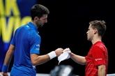 Masters de tennis : Djokovic avale Schwartzman, Medvedev dompte Zverev