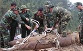 Le Vietnam renforce l'élimination des restes de bombes de guerre