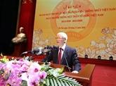 Nguyên Phu Trong à la célébration des 90 ans du Front de la Patrie du Vietnam