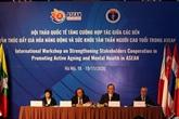 ASEAN : la promotion du vieillissement actif et la santé mentale en débat