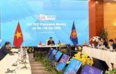 Les officiels préparent la 14e réunion des ministres de l'Énergie de l'EAS