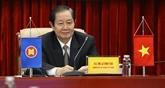 ACCSM+3 : le Vietnam exhorte à coopérer sur la fonction publique