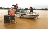 Des agents mobilisés sur le front des crues