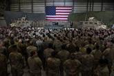 Les talibans saluent la réduction de la présence militaire américaine en Afghanistan