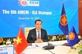 L'AIE donne la priorité à la coopération énergétique avec l'ASEAN