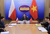 Vietnam-Pologne : consultation politique en ligne au niveau de vice-ministres
