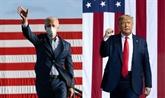 À deux jours du scrutin, Trump au pas de charge, Biden à son rythme