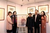 Nguyên Thu, un maître de l'école de peinture sur soie du Vietnam