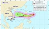 La tempête Goni entre dans la Mer Orientale