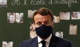 Terrorisme, COVID, S. Paty : Macron s'adresse aux élèves sur les réseaux sociaux