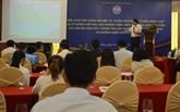 Amélioration des compétences de propagande sur la situation à la frontière Vietnam - Laos