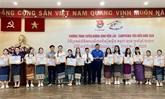 Des étudiants laotiens et cambodgiens exceptionnels honorés