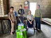 L'USAID soutient les personnes handicapées et sinistrées à Thua Thiên-Huê