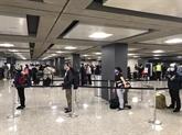 Coronavirus : près de 360 citoyens vietnamiens rapatriés des États-Unis