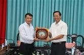 La VNA et Bên Tre boostent leur coopération dans l'information