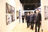 COVID-19 : l'Agence Vietnamienne d'Information à une exposition à Séoul