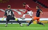 C1 : Fernandes entrouvre la porte des huitièmes à Manchester United