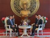 Renforcer la coopération économique entre localités vietnamiennes et chinoises
