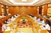 Le chef du PCV, Nguyên Phu Trong, veut accélérer la lutte anti-corruption