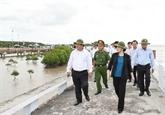 La présidente de l'AN souligne la tâche urgente de la prévention de l'érosion côtière