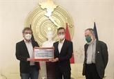 Intempéries : le Parti communiste allemand soutient les sinistrés au Centre