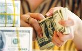Le taux de change central en baisse d'un dông le 26 novembre