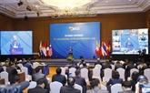 Le PM assiste à une réunion virtuelle de l'ASEAN sur la lutte contre la criminalité transnationale