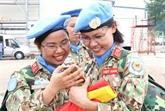 Promotion du rôle des femmes dans les opérations onusiennes de paix