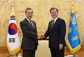 La République de Corée et la Chine s'engagent à renforcer la coopération bilatérale
