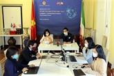 Le Vietnam et l'Italie promeuvent leur coopération économique bilatérale