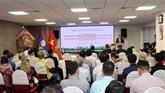 Rencontre à Hô Chi Minh-Ville à l'occasion de la Fête nationale du Laos