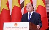 Le Premier ministre à l'ouverture en ligne de la 17e Foire Chine - ASEAN