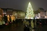 Strasbourg, capitale de Noël, s'illumine... sans chalet ni public