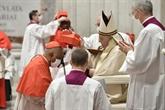 Treize nouveaux cardinaux pour modeler l'Église du pape François
