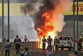 GP de Bahreïn de F1 : Romain Grosjean miraculeusement sauvé des flammes
