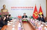 Des responsables du PCV et du PCC s'entretiennent virtuellement