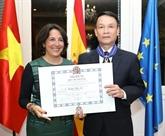 Le directeur général de la VNA honoré par le roi d'Espagne