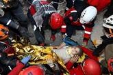 Turquie : une fillette de trois ans sauvée des décombres 91 heures après le séisme
