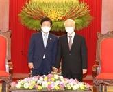 La visite de Park Byung-Seok au Vietnam est couverte par la presse sud-coréenne