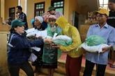 Les secours continuent à affluer dans les provinces sinistrées