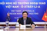 La deuxième réunion annuelle des ministres des AE Vietnam-Australie
