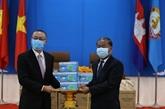 COVID-19 : des masques faciaux offerts au Parti du peuple cambodgien