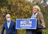 Jill Biden, l'énergie rassembleuse derrière le candidat à la Maison Blanche