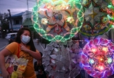 Les Philippins entendent fêter Noël en dépit du coronavirus