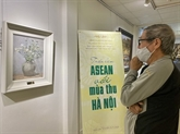 L'automne à Hanoï et l'ASEAN apparaissent dans les peintures